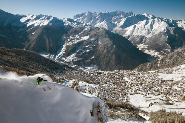 Verbier is home to Switzerland's largest ski area, Les Quatres Vallées. The four villages range in their attractions, from family-friendly to riotous après cultures.
