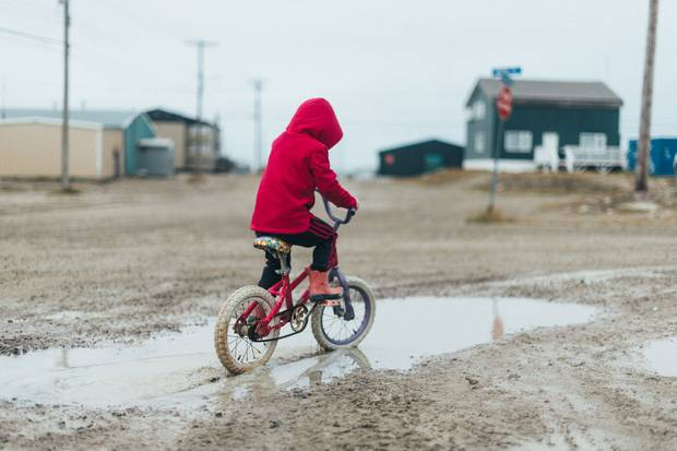 Cambridge Bay is a former trading post that drew Inuit off the land in search of work.