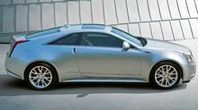 2011 Cadillac CTS coupe (General Motors)