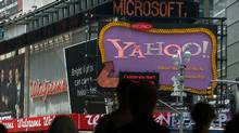 A Yahoo billboard in Times Square, New York (Spencer Platt/2009 Getty Images)