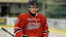 Scott Laughton of the Oshawa Generals. (Aaron Bell/OHL Images)