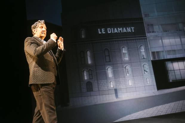 Robert Lepage is hard at work on a new centre for creating and performing theatrical productions.