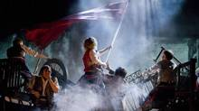 Cameron Mackintosh presents a new production of Les Miserables with staging and scenery inspired by the paintings of Victor Hugo