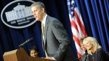 U.S. Secretary of Education Arne Duncan at the White House Oct. 5, 2010. (TIM SLOAN/TIM SLOAN/AFP/Getty Images)