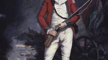 A reproduction of an original oil on canvas painting from 1778 (by Mather Brown) showing Sir Roger Hale Sheaffe, Lieutenant-Governor of Upper Canada 1812-1813. (Moe Doiron/The Globe and Mail)