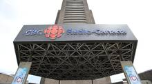 The Radio-Canada CBC building is seen Wednesday, June 5, 2013 in Montreal. (Paul Chiasson/The Canadian Prss)