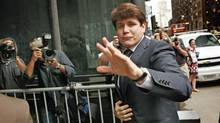 Former Illinois governor Rod Blagojevich, shown arriving at a Chicago courthouse on Aug. 17, was convicted of one count of lying to federal agents. (Scott Olson/AFP/Getty Images)