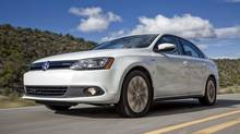 Even after a decade of driving the 2013 Jetta Hybrid, you will not regain the hybrid price premium in fuel savings. (Volkswagen)