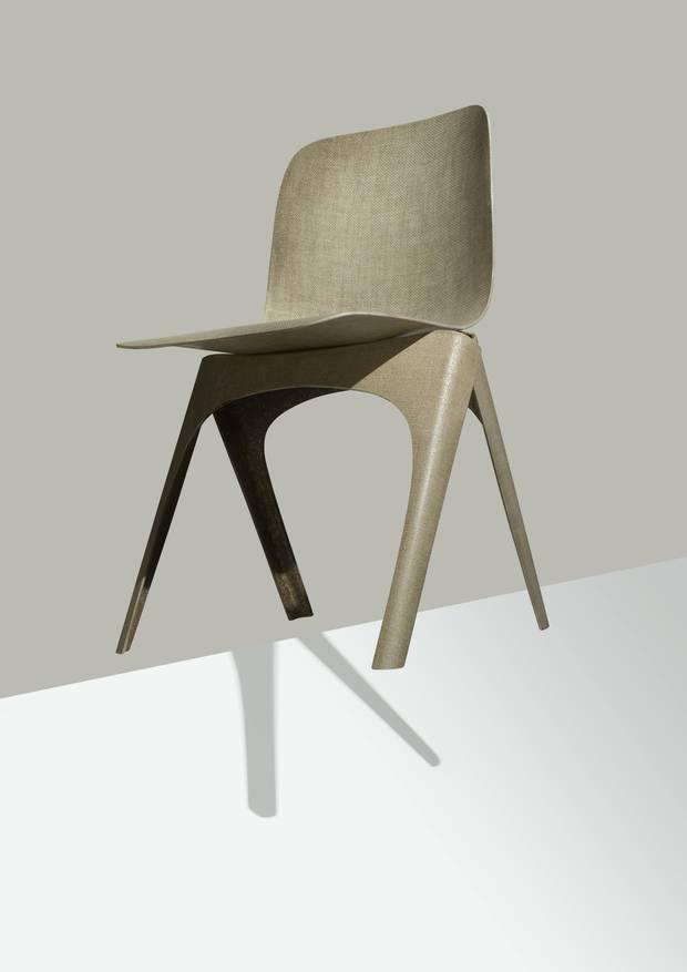 Christien Meindertsma's Flax Chair.