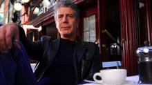 Chef Anthony Bourdain comes to town to debate Eric Ripert. (The Travel Channel)
