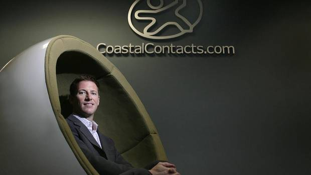 Roger Hardy wanted a new challenge after cashing in earlier this year from the sale of Coastal Contacts to Paris-based Essilor International SA for about $435-million. (Lyle Stafford for The Globe and Mail)