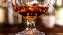 Irish whisky in glass. (Tory Zimmerman/The Globe and Mail)
