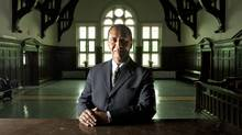 Bill Sundhu a barrister and solicitor in Kamloops, B.C. at the Old Court House on Friday March 13, 2012. (Jeff Bassett for the Globe and Mail)