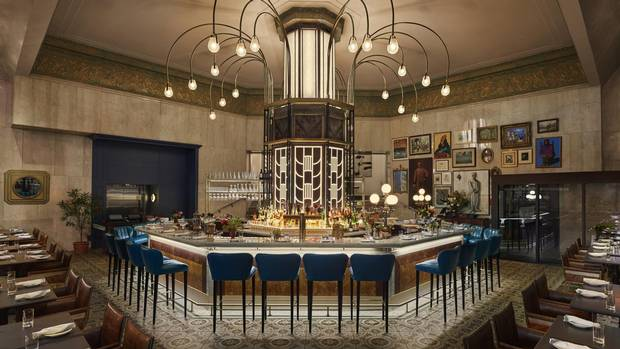 At Lena, inside Yonge Street's flagship Saks Fifth Avenue store, chef Anthony Walsh serves Latin-inspired food.