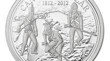 War of 1812 silver dollar