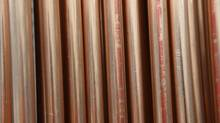 File photo of copper pipe in a plumbing section. (Fred Lum/The Globe and Mail)