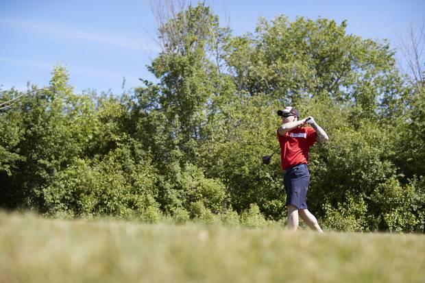 William Werth was blinded in one eye by an IED explosion in Afghanistan. Sports played a major part in his recovery. Now he is so used to monocular golf that he challenges his friends to play with an eye covered and says he 'absolutely destroys' them.