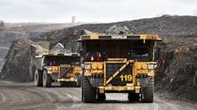 Operations at an Osisko mine site. (Daniel Rompre/Osisko Mining)