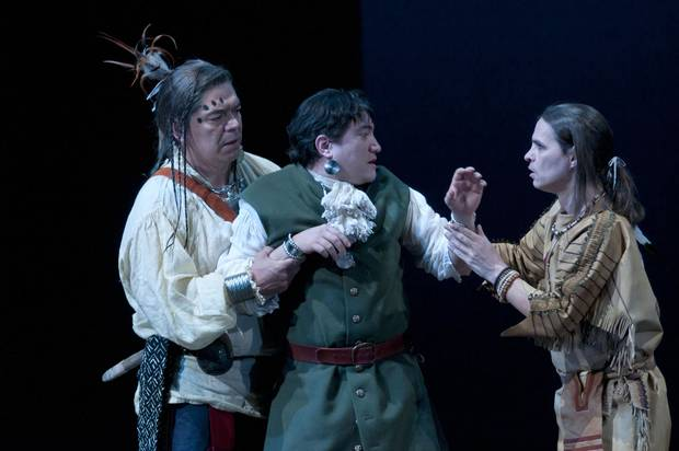 Loring gave a standout performance in an all-Indigenous production of King Lear.