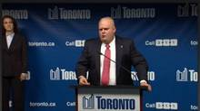This image is a screengrab of a Saturday Night Live skit mercilessly lampooning Rob Ford on Nov. 16, 2013. SNL took a few more shots at the Toronto Mayor on Nov. 23, 2013.