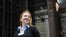 Zuzanna Kusyk, director of global wholesale services at Bank of Nova Scotia in Toronto, has her sights set on a board position in the next few years. (Fred Lum/The Globe and Mail/Fred Lum/The Globe and Mail)