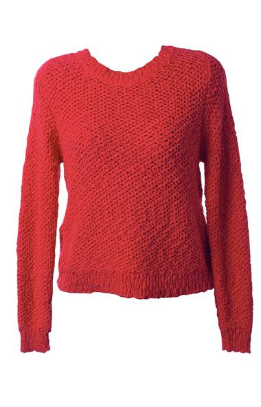 Jean Michel sweater by rodebjer, $250 at Rac Boutique (www.racboutique.com). (Kevin Van Paassen/The Globe and Mail)