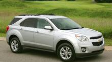 The 2010 Chevrolet Equinox is built in Ingersoll, Ont.