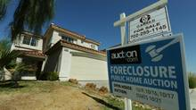 A foreclosed house in Las Vegas (MARK RALSTON/Mark Ralston/AFP/Getty Images)