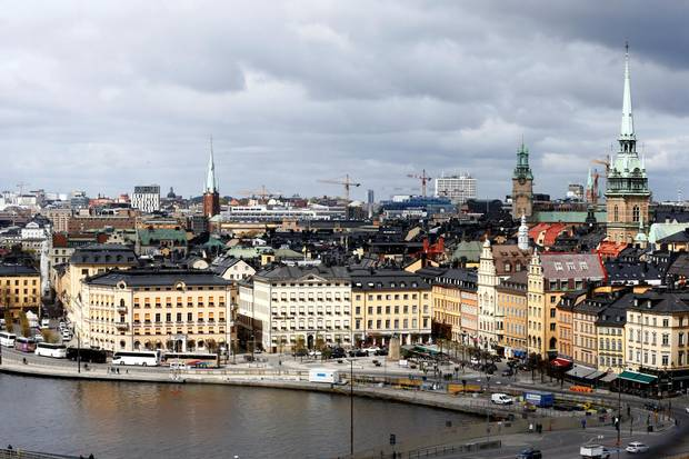 A general view of Stockholm, Sweden, in May, 2017.