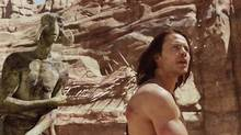 Frame grab from trailer for John Carter.
