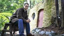 Canadian singer-songwriter Matthew Good at his home in Mission, B.C., Sept. 16, 2013. (Jeff Vinnick/Globe and Mail)