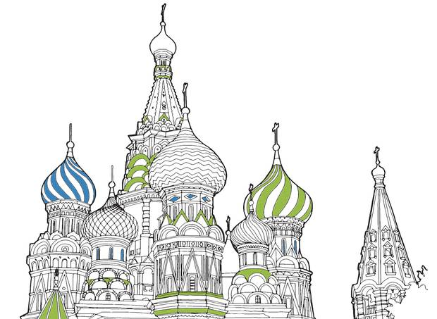 Colour the world with these printable colouring book scenes (for ...