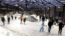Celebrate the start of winter with a day of shopping, ice-skating, eating and mulled-wine drinking at Evergreen Brick Works Dec. 15. (Cameron Collyer)