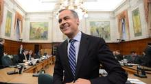 Bank of Canada Governor Mark Carney appears at a Commons finance committee on Parliament Hill in Ottawa on Tuesday, April 23, 2013. (Sean Kilpatrick/THE CANADIAN PRESS)