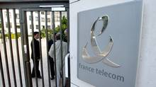 France Telecom headquarters in Paris (MICHEL EULER)