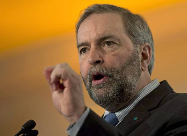 NDP Leader Thomas Mulcair.