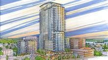A rendering of the proposed changes to Fenwick Tower in Halifax (Endall Elliot Associates)