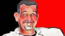 Illustration of Reed Hastings, founder and chief executive officer, Netflix Inc. (ANTHONY JENKINS/THE GLOBE AND MAIL)
