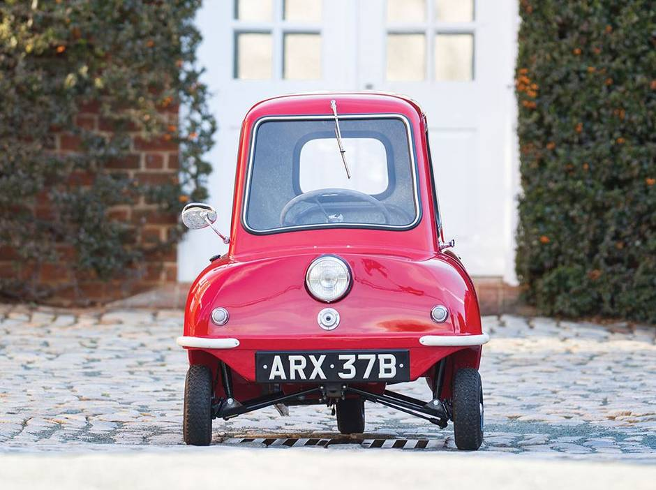 World S Smallest Production Car For 235 000 At Auction