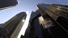 Exterior of the Royal Bank Plaza towers at the corner of Bay St. and Wellington St. West in Toronto on April 17 2014. (FRED LUM/THE GLOBE AND MAIL)