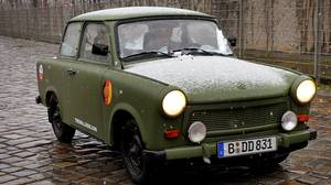 The Trabant's East German background gives it a clear advantage in its bid for the Worst Car of All Time title.