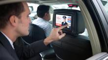 Vancouver-based Play Taxi Media has 1,000 screens displayed in the back seats of taxis in three major cities. (Play Taxi Media)