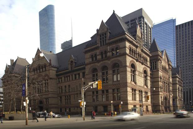 During the 12-month period ending in June, 12,722 cases were heard at the Old City Hall courthouse. The new courthouse that will be built nearby will be able to handle more than three times the volume of cases currently heard at Old City Hall.