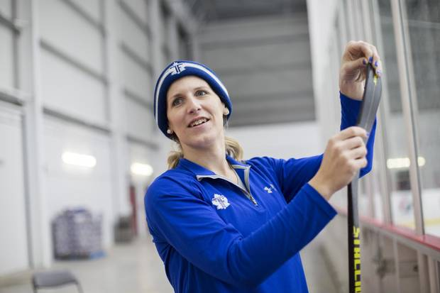 After graduating from high school, Platt played a year of recreational hockey before hanging up her skates.