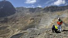 "The Andina copper mine, 80 km northeast of Santiago, Chile. China's State Reserve Bureau made a strategic decision last year to stockpile copper, convinced that the metal was caught up in a ""super-cycle"" of commodity price escalation. (Ivan Alvarado/Ivan Alvarado/Reuters)"