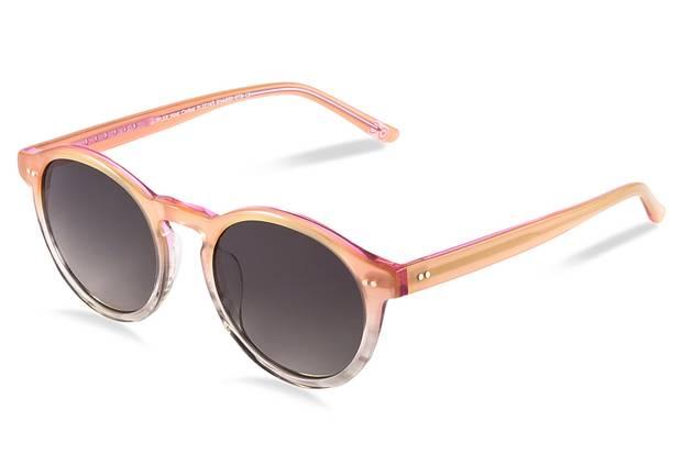 The Emerging Brand: Bailey Nelson - Reba Sunglasses in Rose, $285, through www.baileynelson.com.