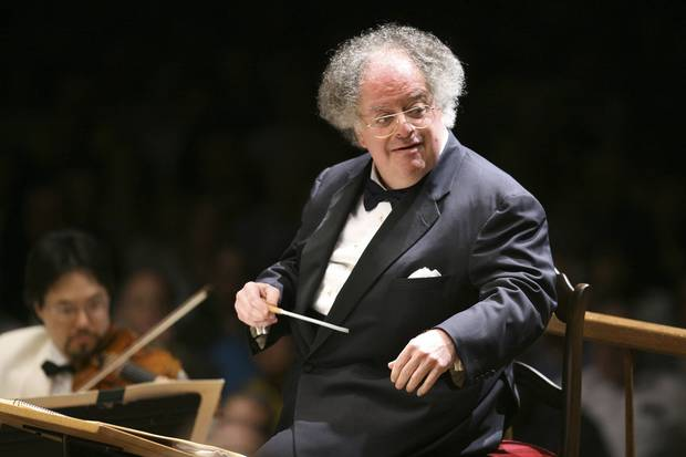 July 7, 2006: James Levine conducts the Boston Symphony Orchestra.