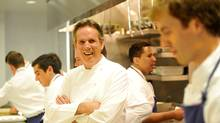 'Cooking is a process,' Thomas Keller says. His new Ad Hoc at Home is not a quick mealtime solution cookbook, he adds: 'Each thing is a process and we didn't compromise the process  of the cooking for time.' (Toby Canham/Getty Images)