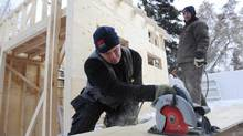 Steinthor Jonasson, a recent immigrant to Canada from Iceland who works as a carpenter. (Kevin Van Paassen/The Globe and Mail)