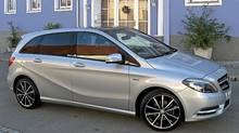 2013 Mercedes-Benz B-Class. (Dan Proudfoot for The Globe and Mail)